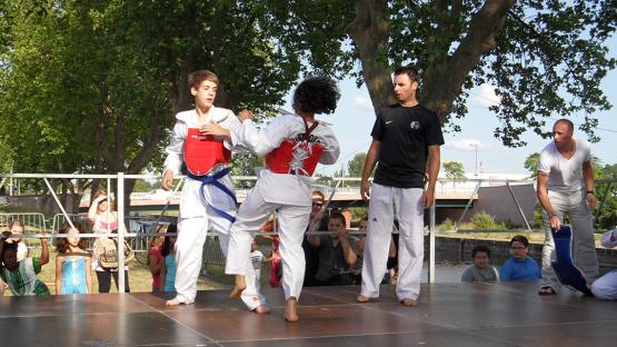 Taekwondo_CombatExterieur